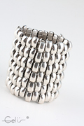exclusive metalbraclet, 7,5 cm width, nickel tested